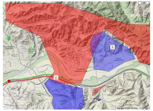 Image Result For Anaheim Hills Fire