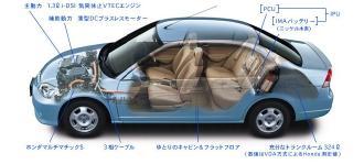 Honda Civic Hybrid Cutaway